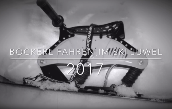 Ski Bockerl fahren im Ski Juwel 2017